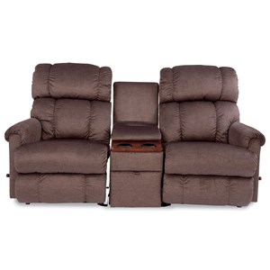 3 Piece Sectional Reclining Sofa with Middle Console