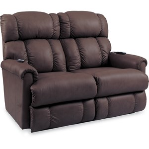 PowerReclineXRw+? Wall Saver Reclining Loveseat w/ Power Headrest & Lumbar