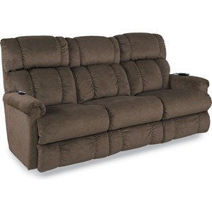 PowerReclineXRw+™ Wall Saver Reclining Sofa w/ Power Headrest & Lumbar