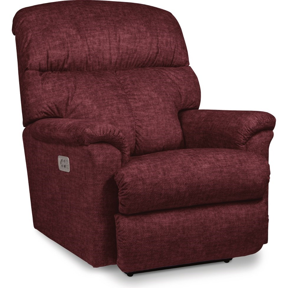 Reed Power Rocking Recliner w/ Headrest by La-Z-Boy at Jordan's Home Furnishings