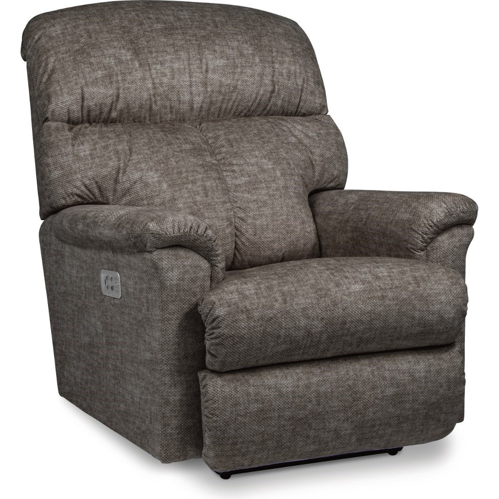 Reed Power Rocking Recliner w/ Headrest by La-Z-Boy at Houston's Yuma Furniture