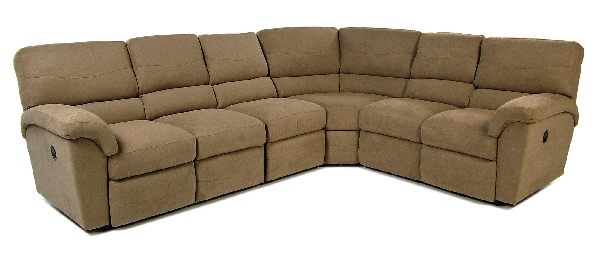 4PC Reclining Sectional