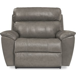 La-Z-Time Power Oversized Wide Recliner with USB Charging Port