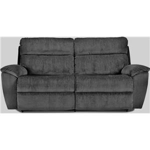 2-Seat Power Reclining Sofa with Power Headrests and USB Charging Ports