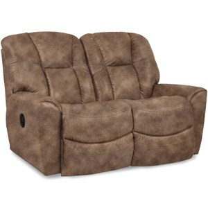 Power Reclining Loveseat w/ Pwr Headrest