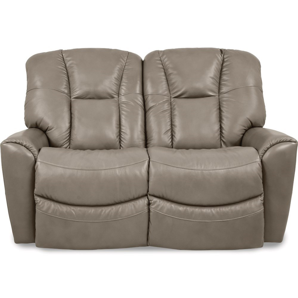 Rori Power Reclining Loveseat w/ Pwr Headrest by La-Z-Boy at Jordan's Home Furnishings