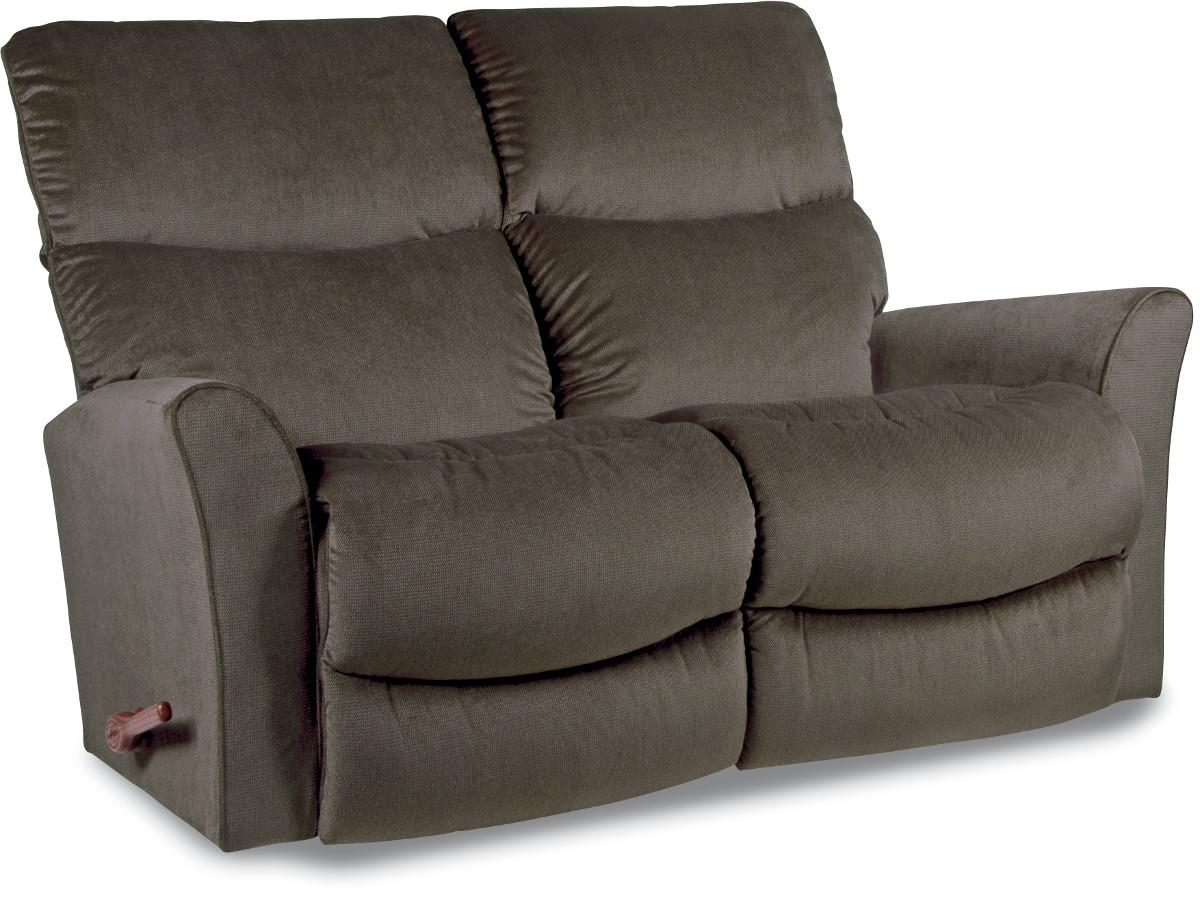 ROWAN Wall Saver Reclining Loveseat  by La-Z-Boy at Home Furnishings Direct