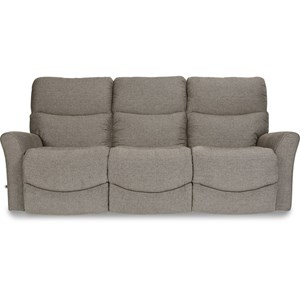 Contemporary Reclina-Way® Full Reclining Sofa with Wall Saver Mechanism