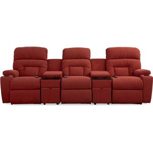 5 Pc Reclining Home Theater Group with Power Recline+