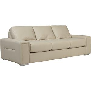 Modern Sofa with Architectural Lines and Premier ComfortCore Cushions