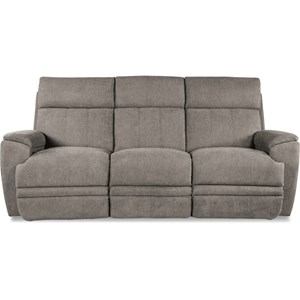 Casual Power Reclining Sofa with USB Charging Ports