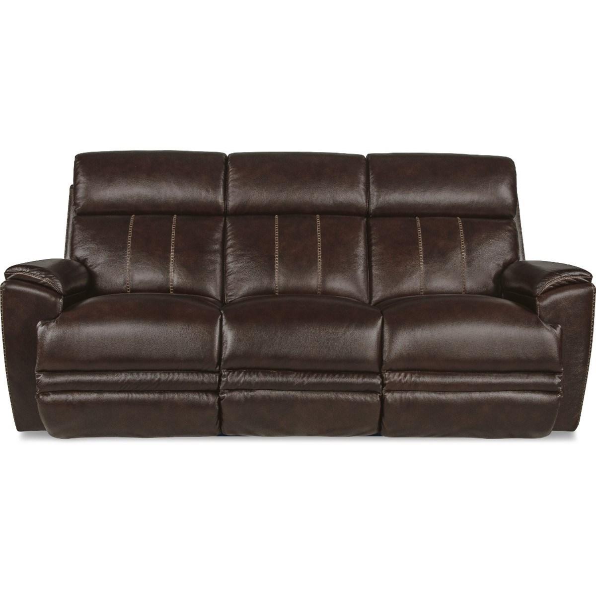 Talladega Power Reclining Sofa w/ Headrests by La-Z-Boy at Jordan's Home Furnishings