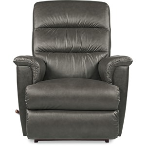 Casual Leather Rocker Recliner
