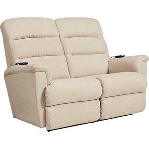 Power-Recline-XRw+ Wall Saver Reclining Loveseat with Power Tilt Headrest and Lumbar