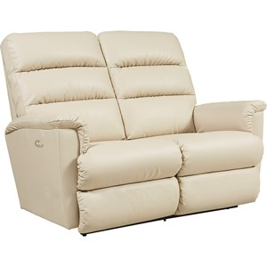 Casual Power Wall Saver Reclining Loveseat