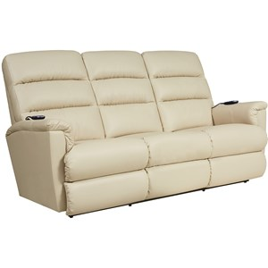 Power-Recline-XRw™+ Wall Saver Reclining Sofa with Power Tilt Headrest and Lumbar