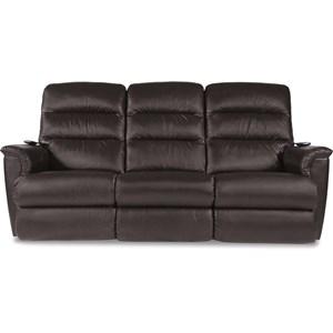 Power-Recline-XRw™+ Wall Saver Reclining Sofa with Power Tilt Headrest and Lumbar