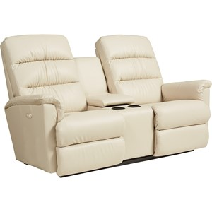 Power-Recline-XRw Wall Saver Reclining Loveseat with Cupholder and Storage Console