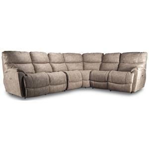 Trouper Reclining Sectional Sofa