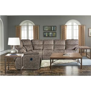Trouper Power Sectional Sofa