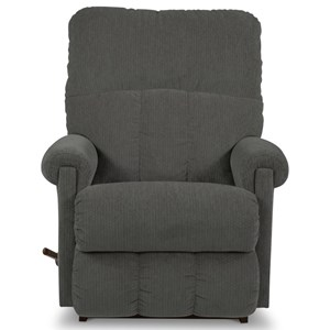 Casual Small Scale Rocker Recliner