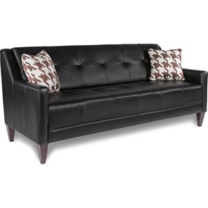 Mid-Century Modern Sofa with Tufting