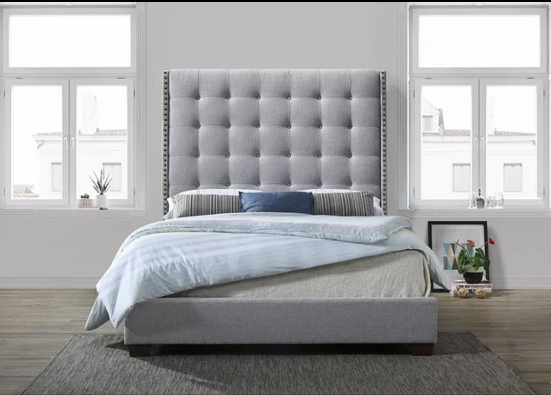 Regency Gray Regency Queen Bed by Lacey Furniture at Dream Home Interiors