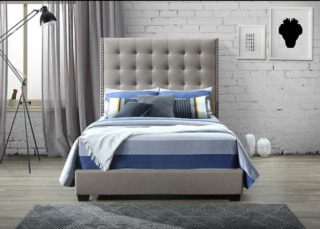 Regency Oat King Bed by Lacey Furniture at Dream Home Interiors
