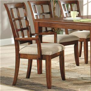 Lacquer Craft USA Anson Arm Chair