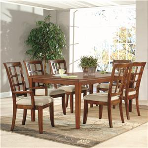 Lacquer Craft USA Anson 7 Piece Dining Set