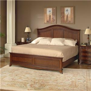 Lacquer Craft USA Avalon Queen Panel Bed