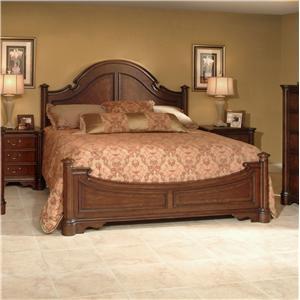 Lacquer Craft USA Cortona Queen Ribbon Bed