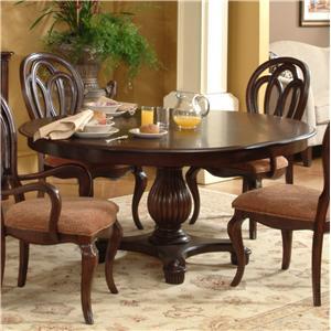 Lacquer Craft USA Cortona Single Pedestal Table