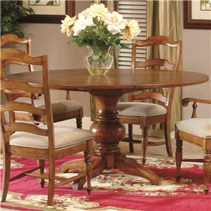 Round Pedestal Dinner Table