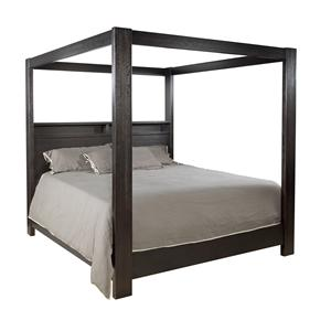 Lacquer Craft USA Metropolitan 8300 KING CANOPY BED