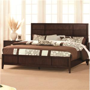 Lacquer Craft USA Pacifica Queen Panel Bed