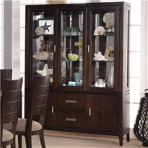 Lacquer Craft USA Pacifica China Cabinet