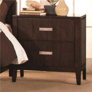 Lacquer Craft USA Pacifica Night Stand
