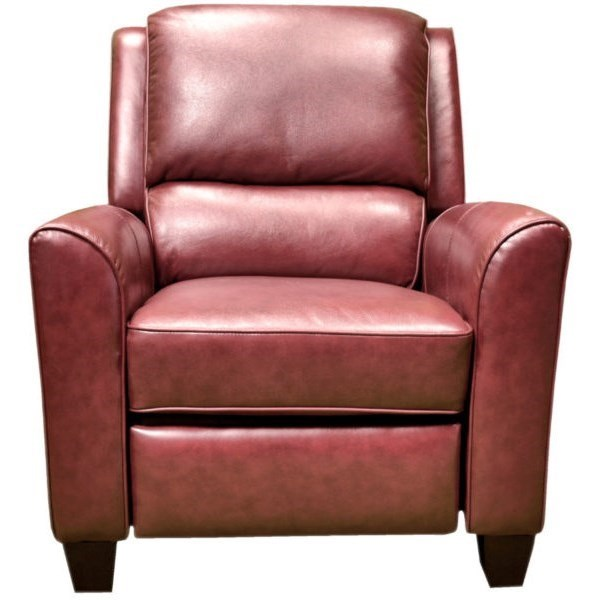 3322 High Leg Recliner by LaCrosse at Mueller Furniture