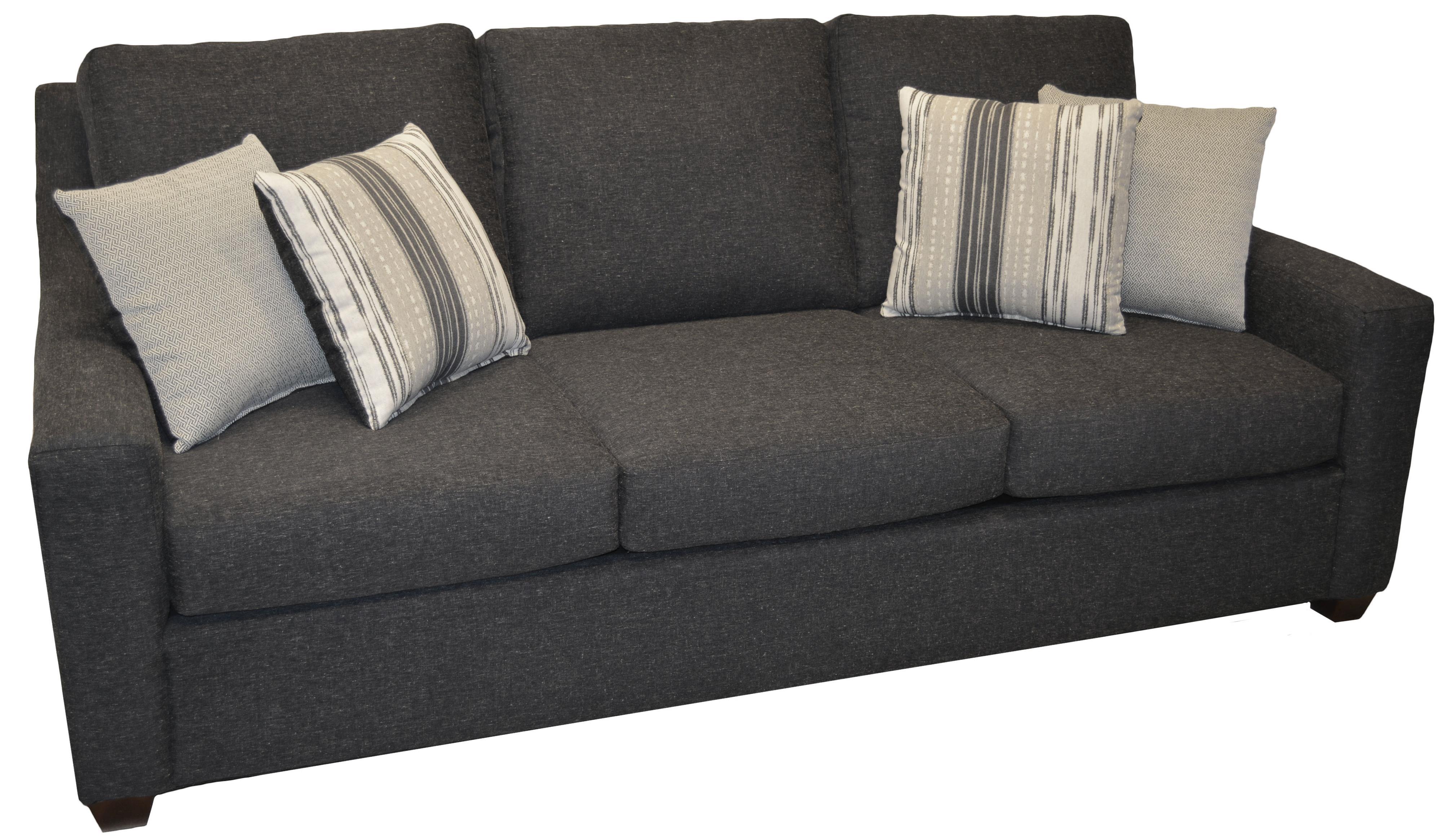 423 Queen Sleeper Sofa by LaCrosse at Mueller Furniture