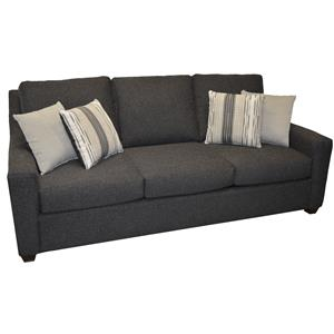 "Queen Sleeper Sofa with 5"" Innerspring Mattress"