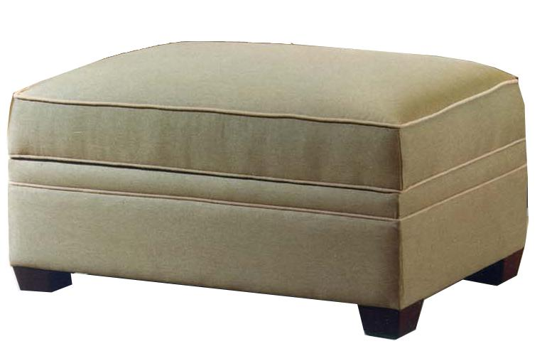 601 Storage Ottoman by LaCrosse at Mueller Furniture