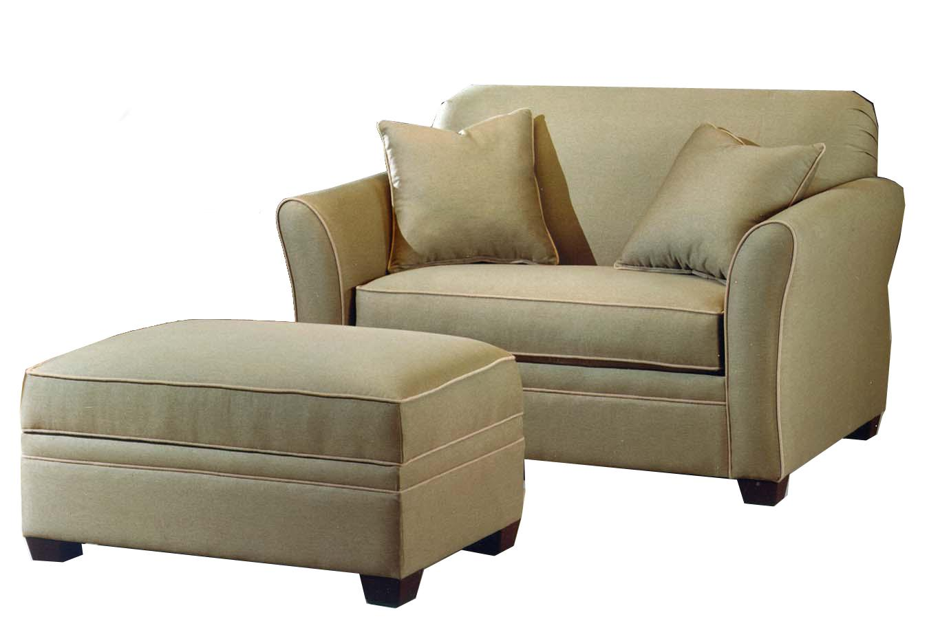 601 Chair & Ottoman by LaCrosse at Mueller Furniture