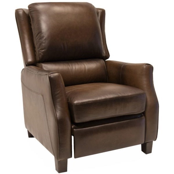 9757 High Leg Recliner by LaCrosse at Mueller Furniture