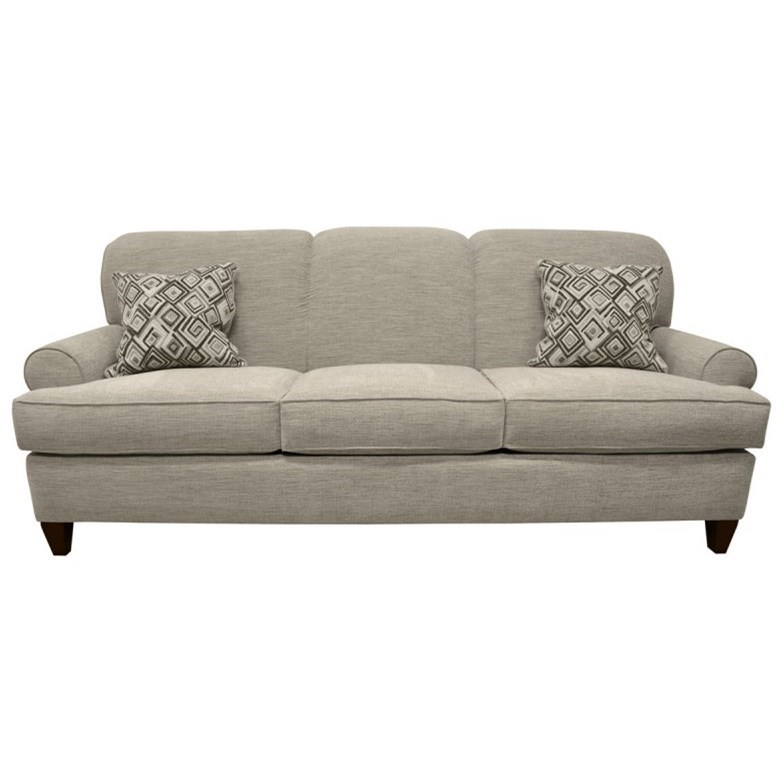 Augusta Queen Sleeper Sofa by LaCrosse at Mueller Furniture