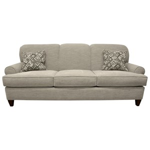 Queen Sleeper Sofa with Rolled Sock Arms