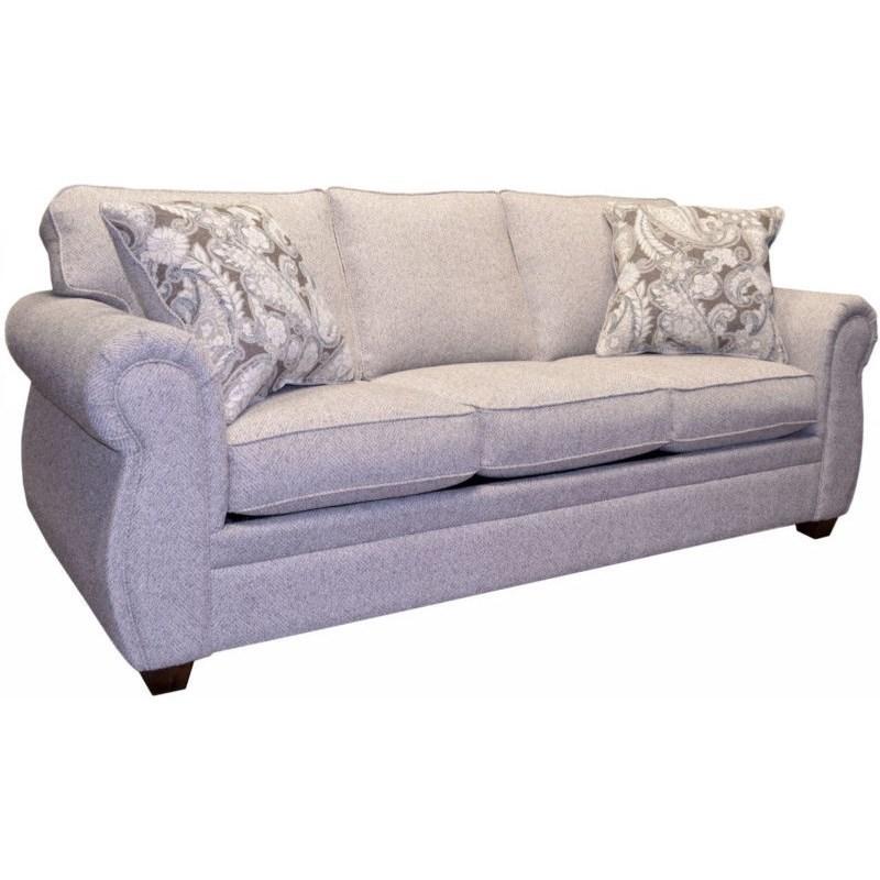 Calgary Queen Sleeper Sofa by LaCrosse at Mueller Furniture