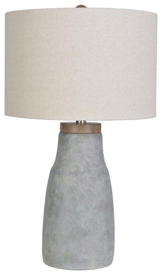 2018 Collection LPS-231 Concrete Lamp by Lamps Per Se at Furniture Fair - North Carolina