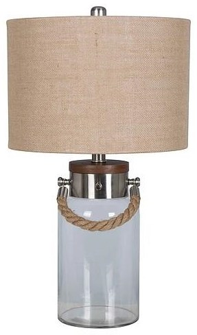 2018 Collection LPS-329 Glass Lamp by Lamps Per Se at Furniture Fair - North Carolina