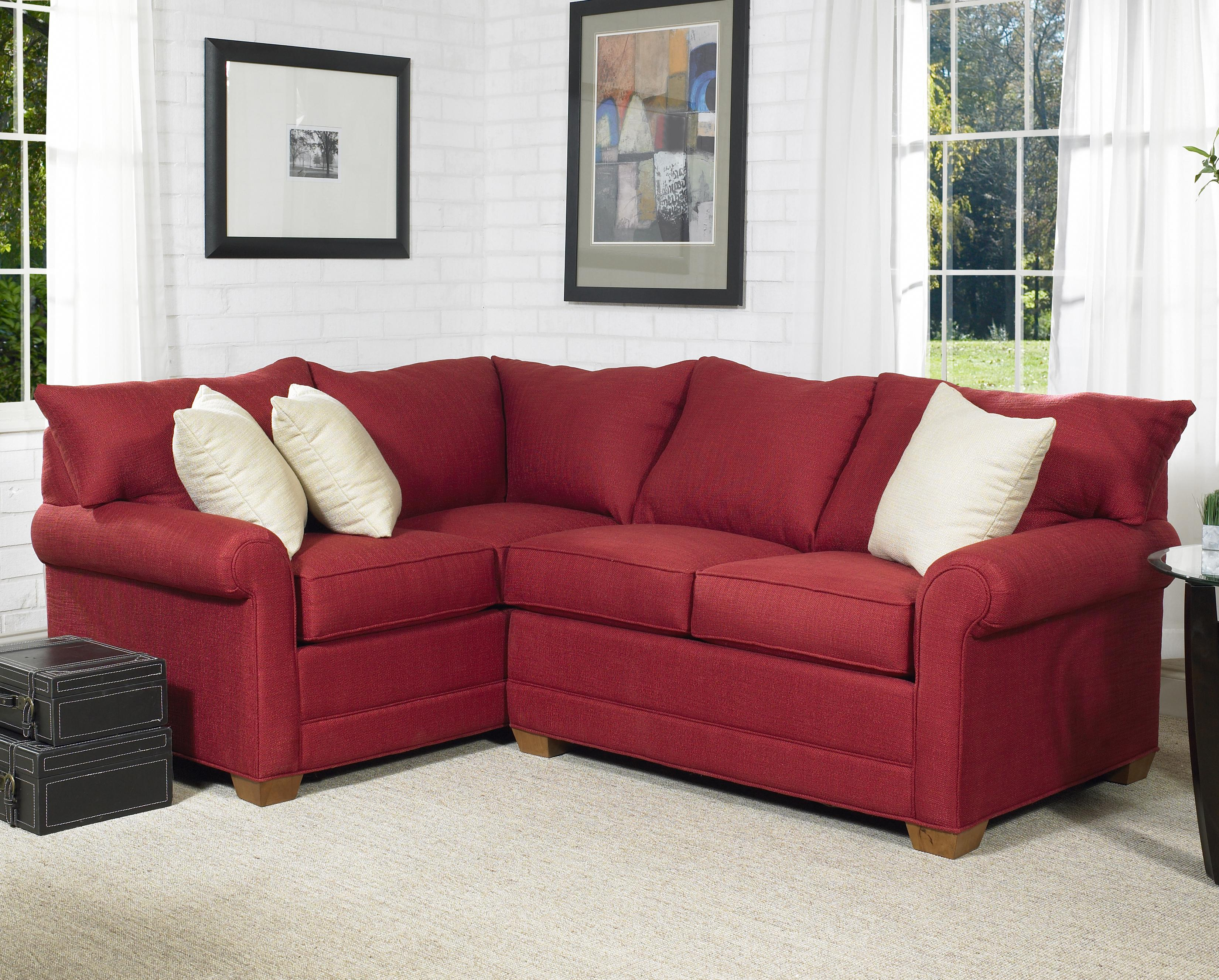 110 Loveseat Sectional Group by Lancer at Wayside Furniture
